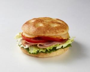 햄치즈 포카치아 샌드위치