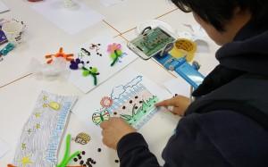 한국애니메이션교육협회가 진행하는 애니메이션 교육 현장