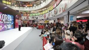 홍콩 현지에서 진행된 부산원아시아페스티벌 슈퍼매시업 컬래버 콘서트