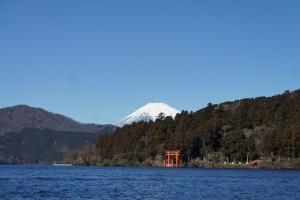 도쿄 하코네 아시노코 전경