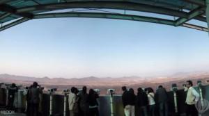 클룩의 DMZ 투어에 참여 중인 여행객들