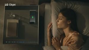LG전자가 새롭게 선보인 프리미엄 프라이빗 가전 LG 오브제를 감각적으로 소개하는 TV 광고를 선보였다