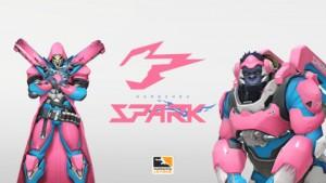 항저우 스파크 로고, 핑크 리퍼와 윈스턴