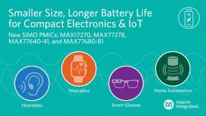 절반 크기의 전력 레귤레이터 지원하는 IoT 디바이스용 SIMO PMIC