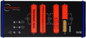 초소형 폼팩터 MIPI D-PHY/C-PHY 콤보 분석기, 모델명 SV3C-DPRXCPRX