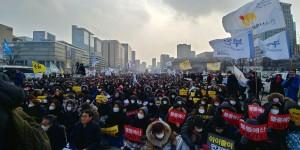 지역아동센터 예산사태 해결을 위한 추경쟁취 궐기대회