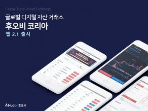 후오비 코리아 앱 2.1 버전