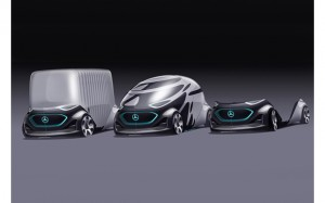 One of Private mobility finalist for Future Mobility of the Year 2019: Concept car Mercedes Vision URBANETIC.