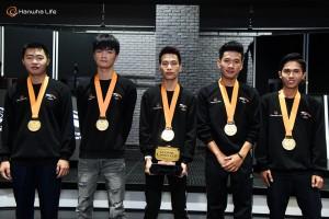 HLE 글로벌 챌린지 우승팀