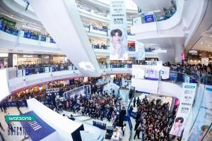 중국 청두 BRTC 브랜드 행사 현장
