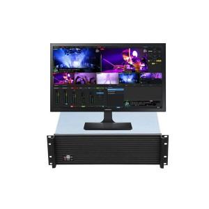 방송에 필요한 모든 기능을 하나로 축약한 통합방송시스템