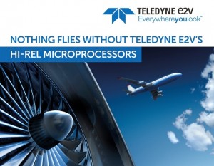 Teledyne e2v는 항공우주 방위산업 고객사들을 대상으로 광범위한 기기를 공급하고 있다