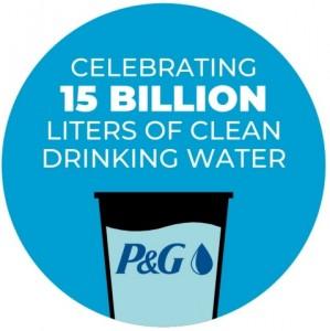 P&G가 세계 물의 날 비영리 아동 안전 식수(CSDW) 프로그램을 통해 150억리터의 깨끗한 식수를 제공하겠다는 2020년 목표 달성을 축하했다