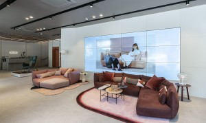 프리미엄 소파 브랜드 알로소가 오픈한 청담 플래그십 스토어