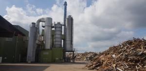 독일 폐목재 발전소