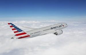 인천에서 달라스 포트워스 직항 노선을 운항하는 아메리칸 항공 보잉 787-9