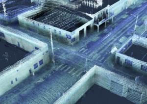 올비전은 벨로다인 라이더가 장착된 카르타의 스텐실 2-32를 사용하여 노상주차 수요가 높은 피츠버그 스트립 지구의 연석 점유율 분석을 수행한다
