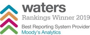 무디스 애널리틱스가 워터스 랭킹의 최우수 보고 시스템 제공업체에 선정됐다