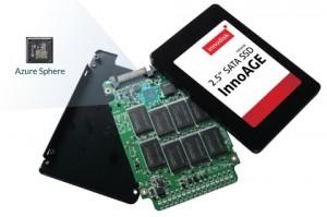 이노에이지SSD는 최초로 애저 스피어를 탑재한 특허 받은 솔루션으로서 대역 내 관리와 대역 외 관리 모두를 지원한다