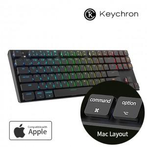 키크론 K1 무선 기계식 텐키리스 키보드 87 한글키 RGB