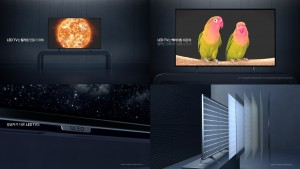 LG전자가 LED TV와 차원이 다른 올레드 TV 광고를 온에어했다
