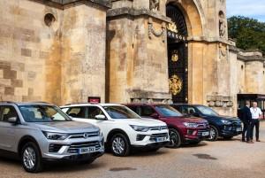 쌍용자동차가 코란도 유럽 현지 판매에 돌입했다
