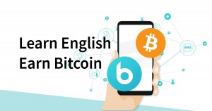 Learn English, Earn Bitcoin