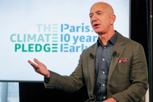 Amazon Co-founds The Climate Pledge, Setting Goal to Meet the Paris Agreement 10 Years Early