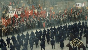 드라마 바빌론 베를린의 한 장면