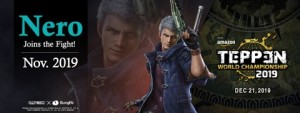 Nero of the Devil May Cry series will be the latest addition to the amazing cast of icons from the Capcom universe. GungHo Online Entertainment will release Nero and a new TEPPEN card set expansion  in November 2019 and it will be playable at the first-ever TEPPEN World Championship tournament in December.