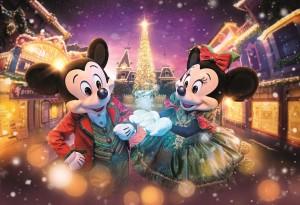 디즈니 크리스마스 기간, 홍콩 디즈니랜드 리조트가 겨울 원더랜드를 경험하고 다양한 즐거움을 찾는 행사를 진행한다