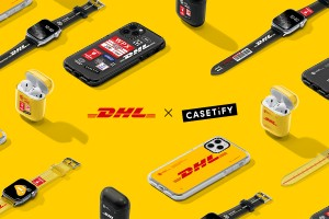 DHL X 케이스티파이 콜렉션은 DHL의 시그니쳐 컬러, 화물운송장 등을 이용해 디자인에 담았다