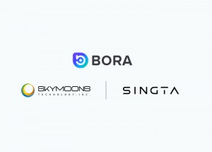 BORA는 국내 게임 개발사 스카이문스테크놀로지, 싱타와 협업을 시작한다