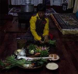 부탄 음식 재료