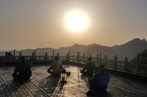 아침편지 여행이 3월 26일부터 4월 2일(7박8일)까지 중국 무당산&서안 팔단금 수련여행을 떠난다