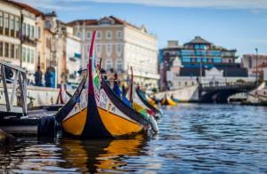 포르투갈의 베니스라 불리는 운하의 도시 아베이루