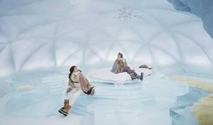 홋카이도 호시노 리조트 토마무 얼음 호텔