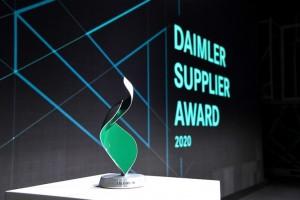 LG전자가 독일 자동차 제조 그룹 다임러의 우수 공급사로 선정됐다