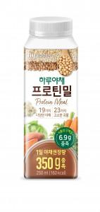 한국야쿠르트가 하루야채 프로틴밀을 출시한다