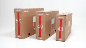 삼성전자 라이프스타일 TV 에코 패키지 포장 박스