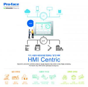 정보기술과 운영기술, 사람을 연결하는 슈나이더일렉트릭 프로페이스 HMI Centric