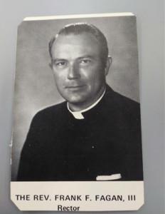 故 프랭크 페이건 3세(The Rev. Frank F. Fagan Ⅲ)