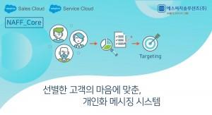 에스씨지솔루션즈가 세일즈포스 솔루션에 직접 설치해서 사용하는 NAFF Core 다중 채널 메시지 서비스 패키지를 개발했다