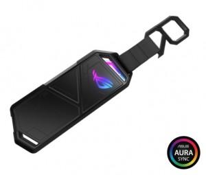 대원CTS가 휴대용 외장 SSD 케이스 ASUS ROG STRIX ARION ESD-S1C를 출시했다