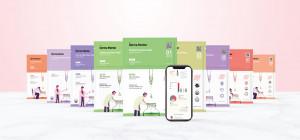 비체코스메틱의 개인피부맞춤형 9종 마스크팩 더마멘토