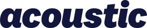 가이온이 국내 총판을 맡고 있는 마케팅 솔루션 제품 어쿠스틱 로고