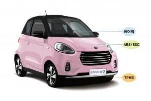 쎄미시스코가 2인승 경형 전기차 EV Z(이브이 제타)의 사전 예약 판매를 6월 1일부터 시작한다