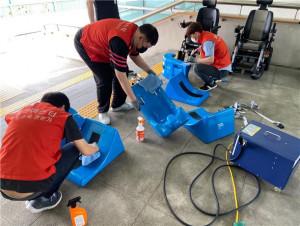 경기도재활공학서비스연구지원센터에서 인턴십 프로그램이 진행되고 있다