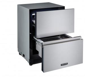 LG전자가 출시한 시그니처 키친 스위트 아일랜드 서랍형 냉장고