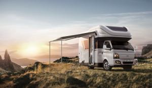현대자동차가 포터 캠핑카 포레스트를 출시했다